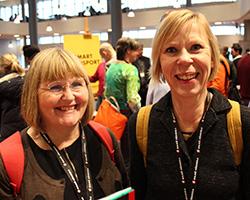 Sue Harden and Bitte Zetterman