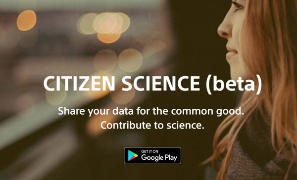 Citizen Science screendump